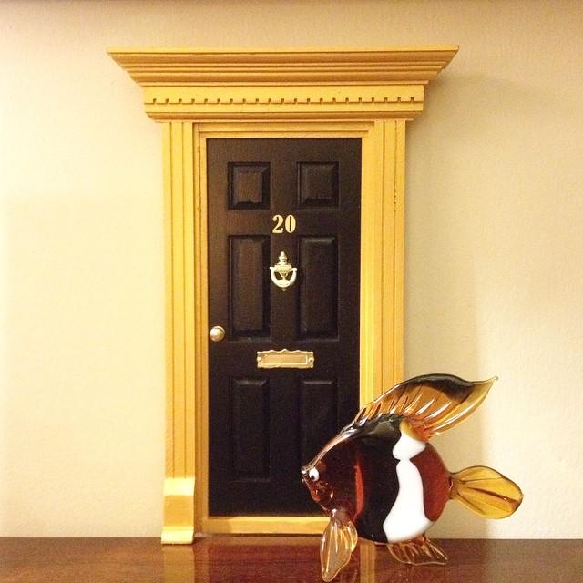 Puerta ratoncito Pérez para la tienda de decoración Imagentalia, Madrid