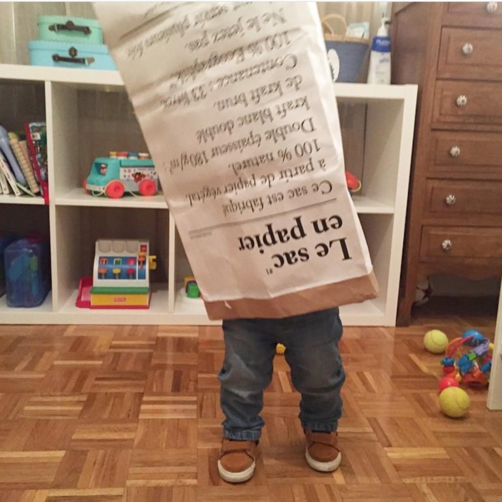 Oui Oui-a la guarde sin prisas-babyoui-le sacen papier