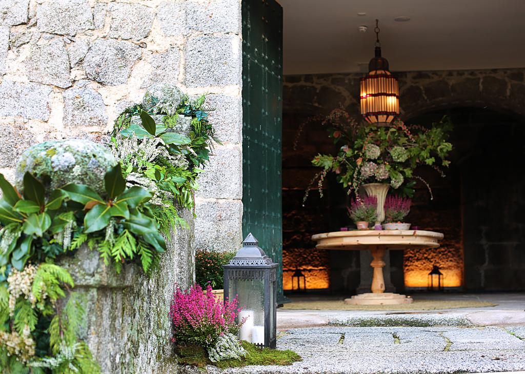 el palacio de las flores letras: