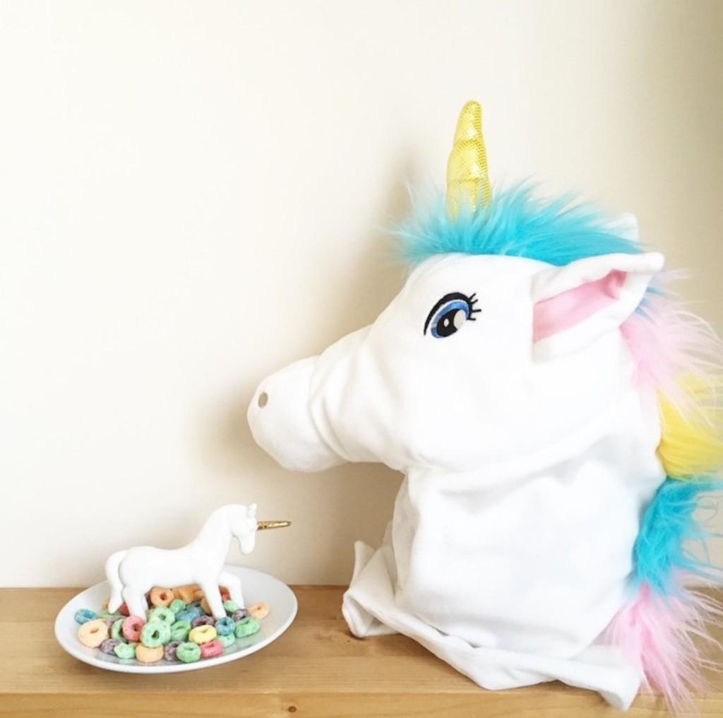 Oui Oui-cabeza unicornio hm-disfraz unicornio