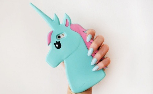 Oui Oui-carcasa de unicornio