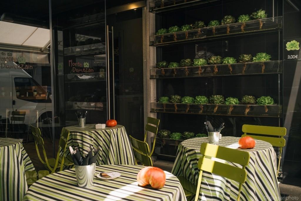 Oui Oui-floren domezain-el rey de las verduras-huerto ecologico restaurante