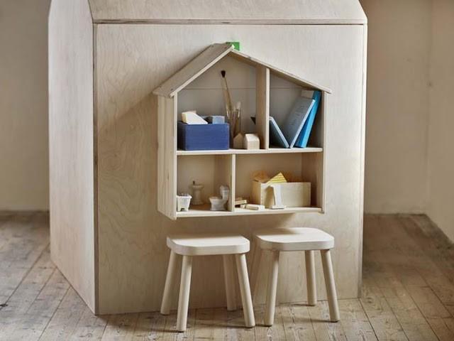 Oui Oui-coleccion FLISAT-IKEA-banquetas madera