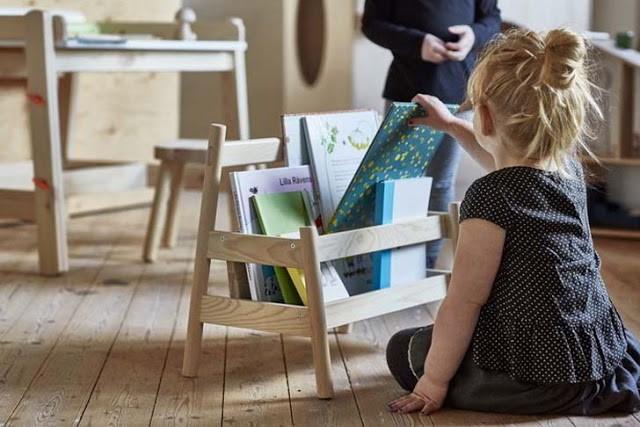 Oui Oui-coleccion FLISAT-IKEA-mini libreria