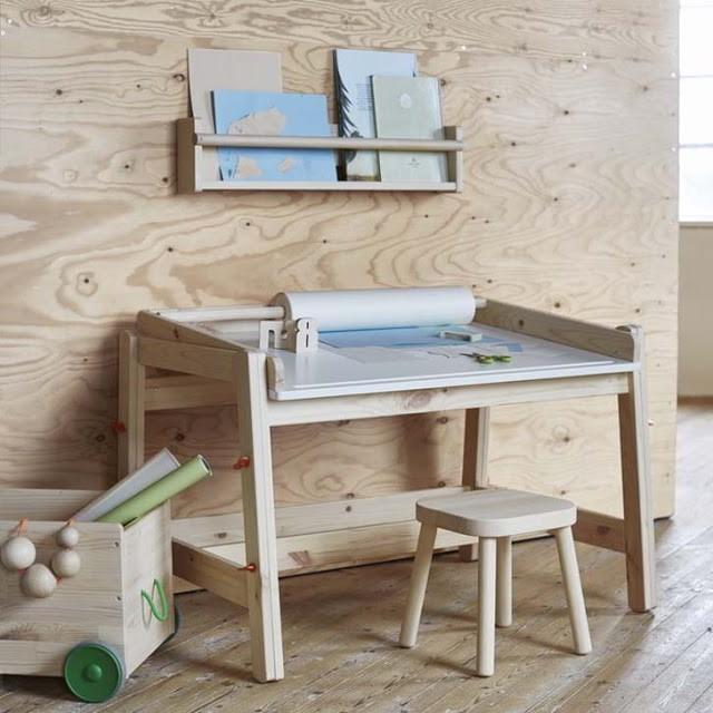 Oui Oui-coleccion FLISAT-IKEA-pupitre