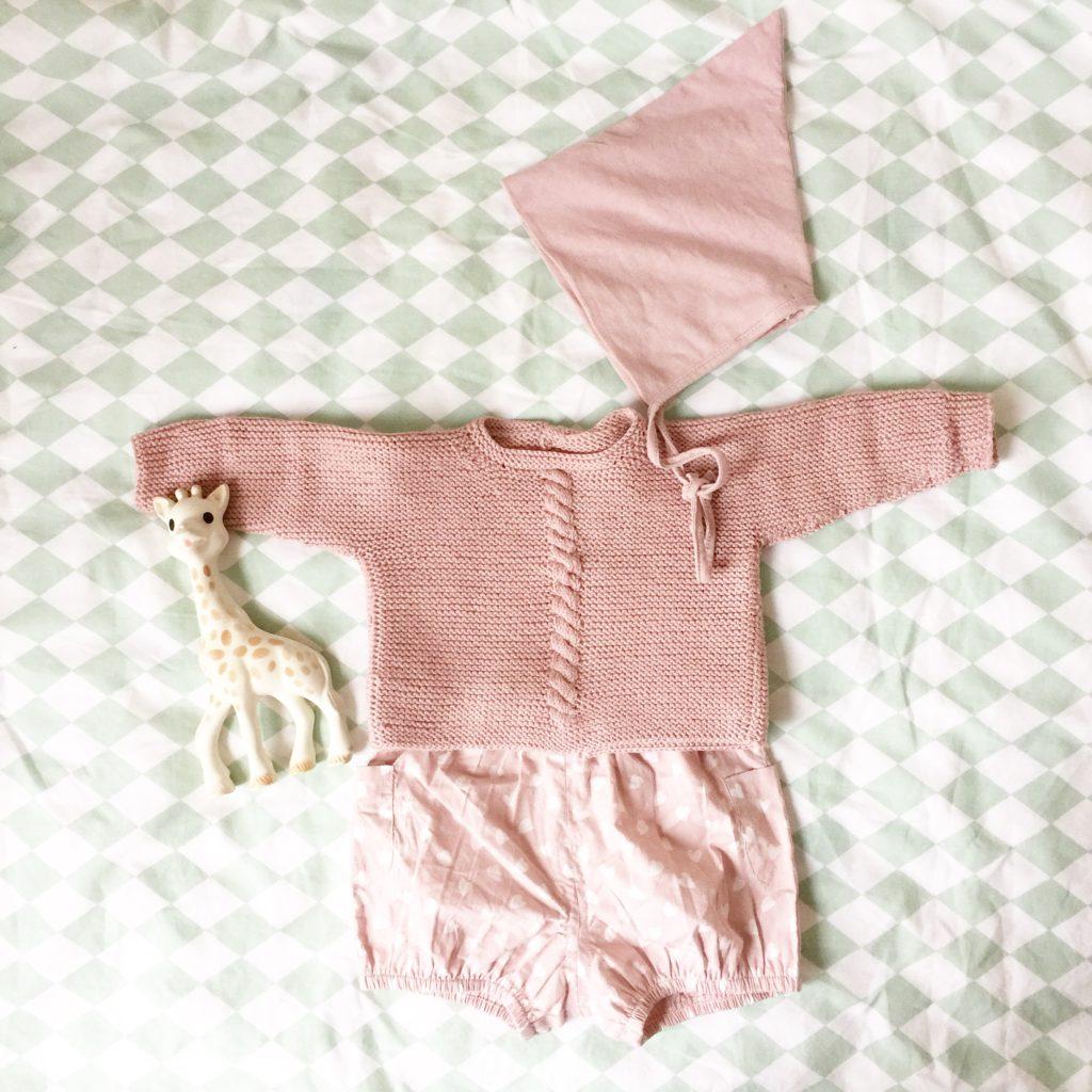 Oui Oui-conjunto rosa palo-bebe-nicoli