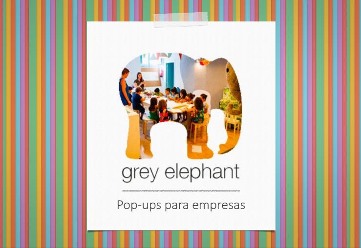 Oui Oui-pop up empresas-grey elephant