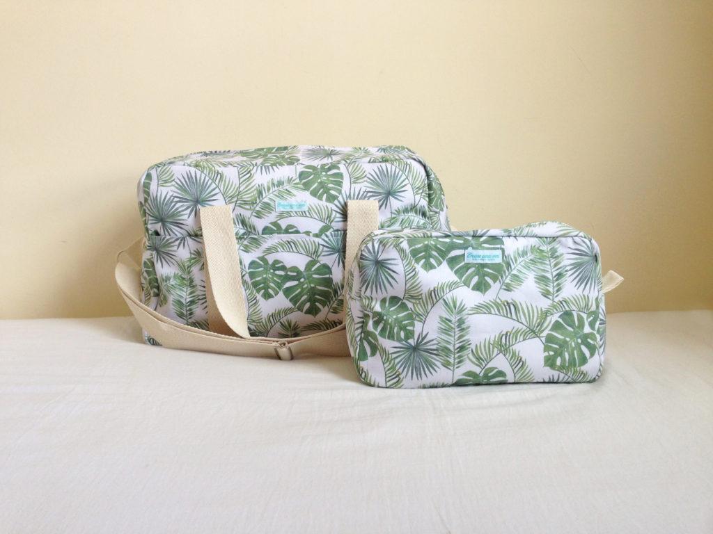 Oui Oui-bolsas carrito bebe chulas-erase una vez-bolsa y neceser tropical