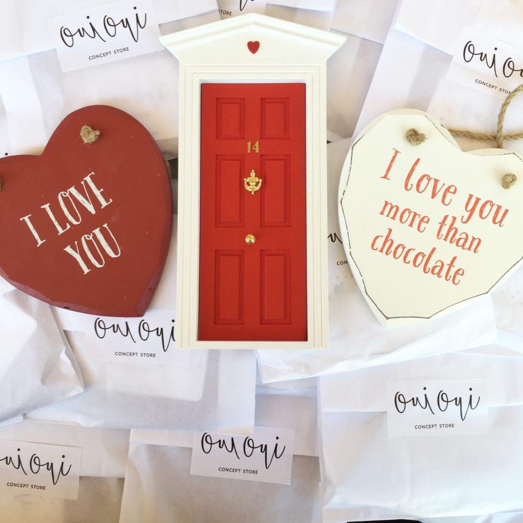 Oui Oui-puerta ratocnito perez-san valentin-corazon alejo