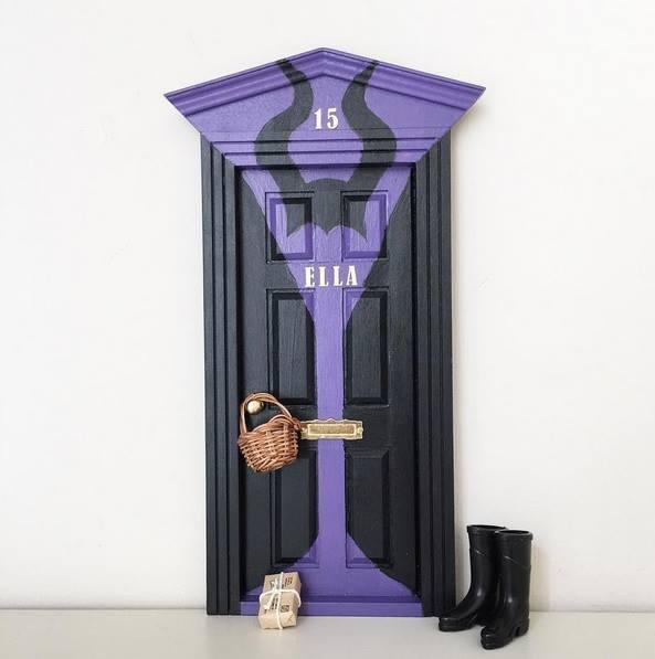 Oui Oui-puerta ratoncito perez-malefica-ella elena tablada