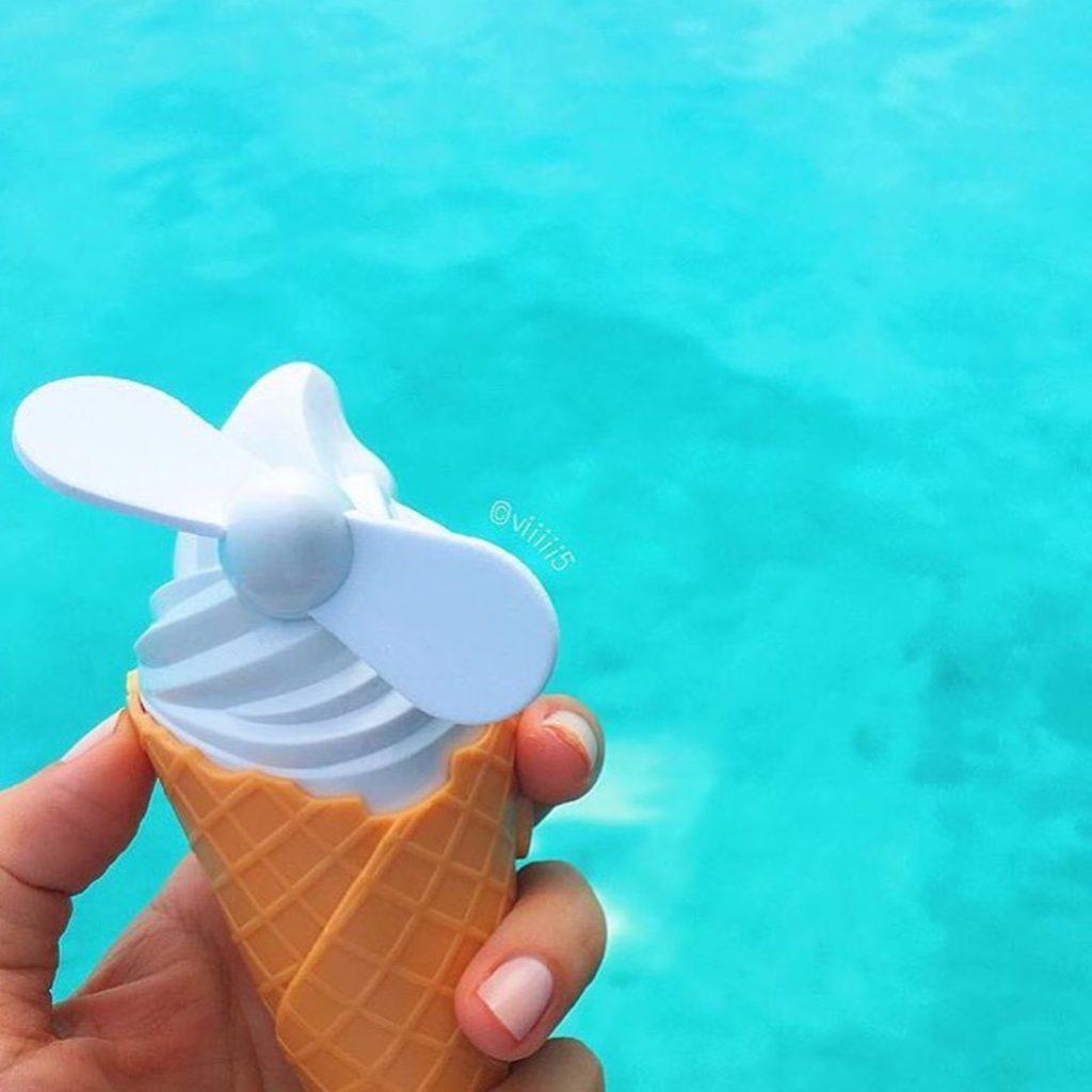 Oui Oui-ventilador helado-ice cream fun-sunnylife