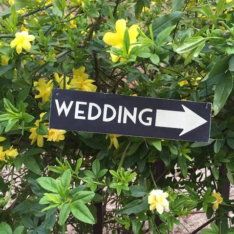 Oui Oui-cartel madera boda-cartel wedding