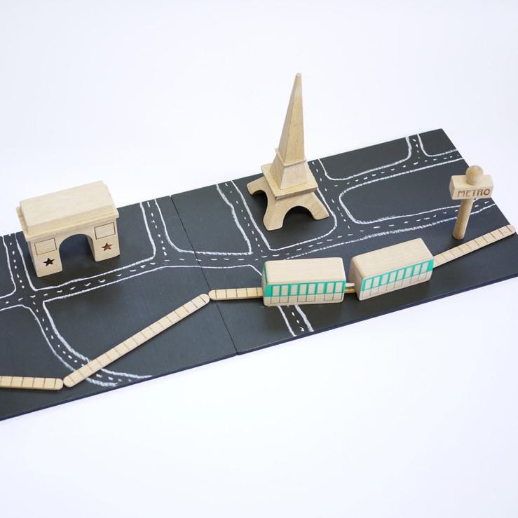 Oui Oui-set paris kiko-juego madera paris-paris matchi kiko-cerca