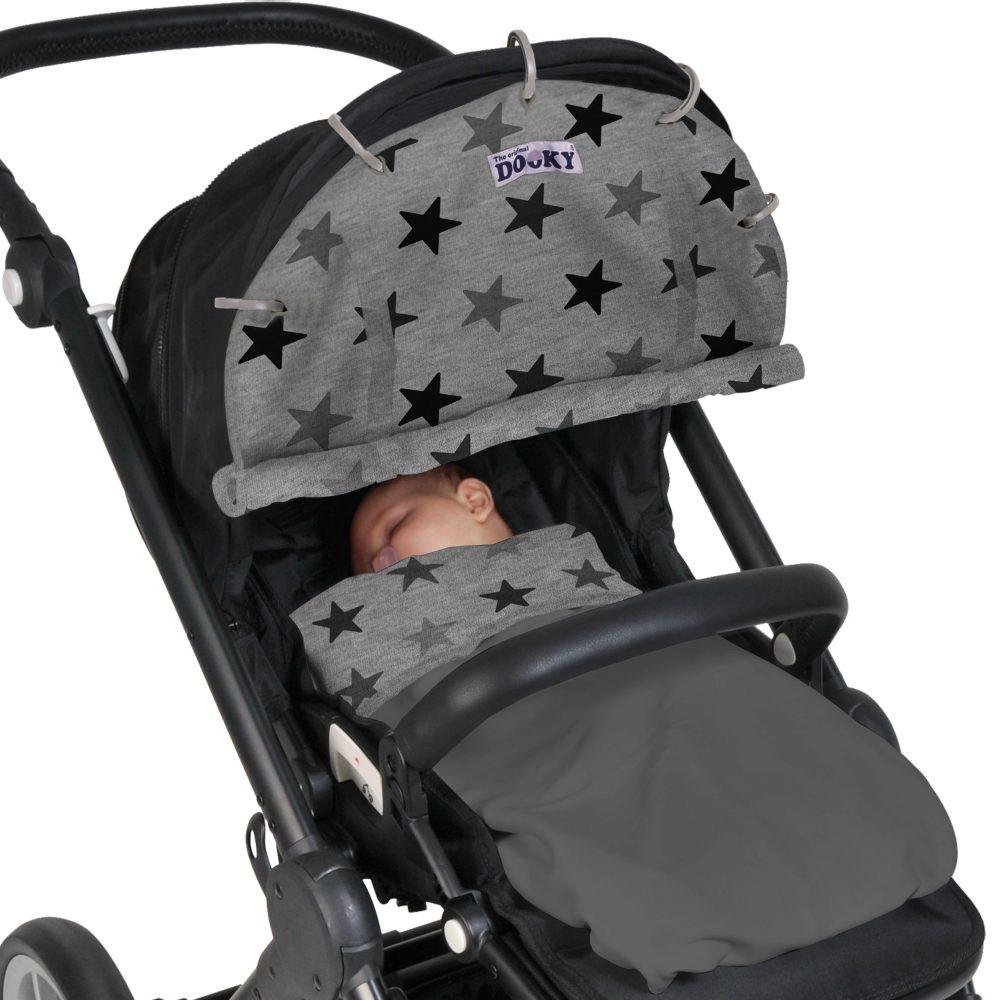 Oui Oui-dooky baby-paraol cochecito bebe-quitar sol carrito bebe-estrellas
