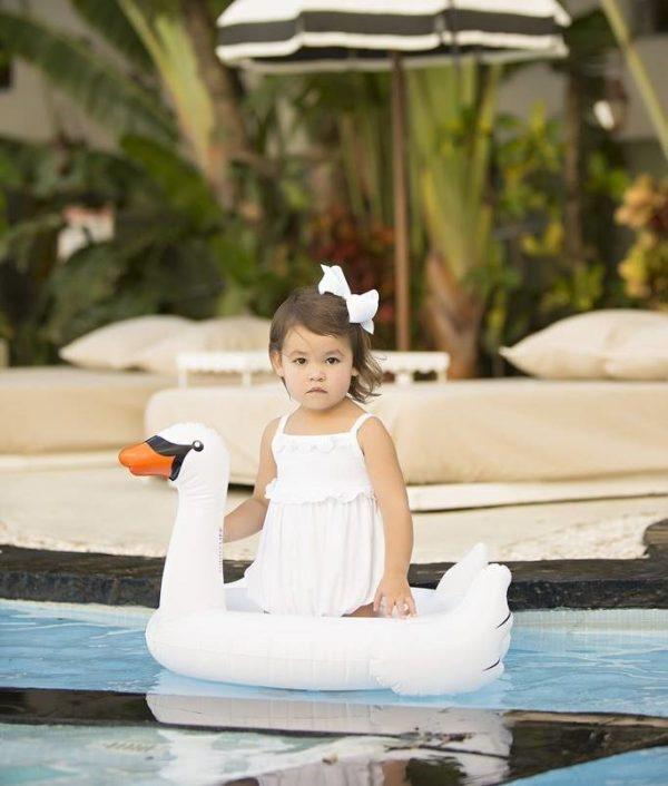 Oui Oui-flotador cisne niños