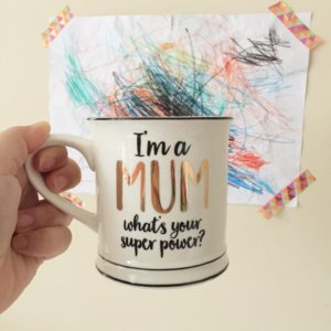 Oui Oui-taza madre superpoderes-MUM