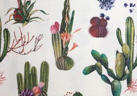Oui Oui-manteles hule monos-manteles hule con estilo-manteles hule estampados-mantel hule cactus