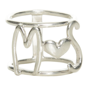 anillo iniciales plata-marta salinas