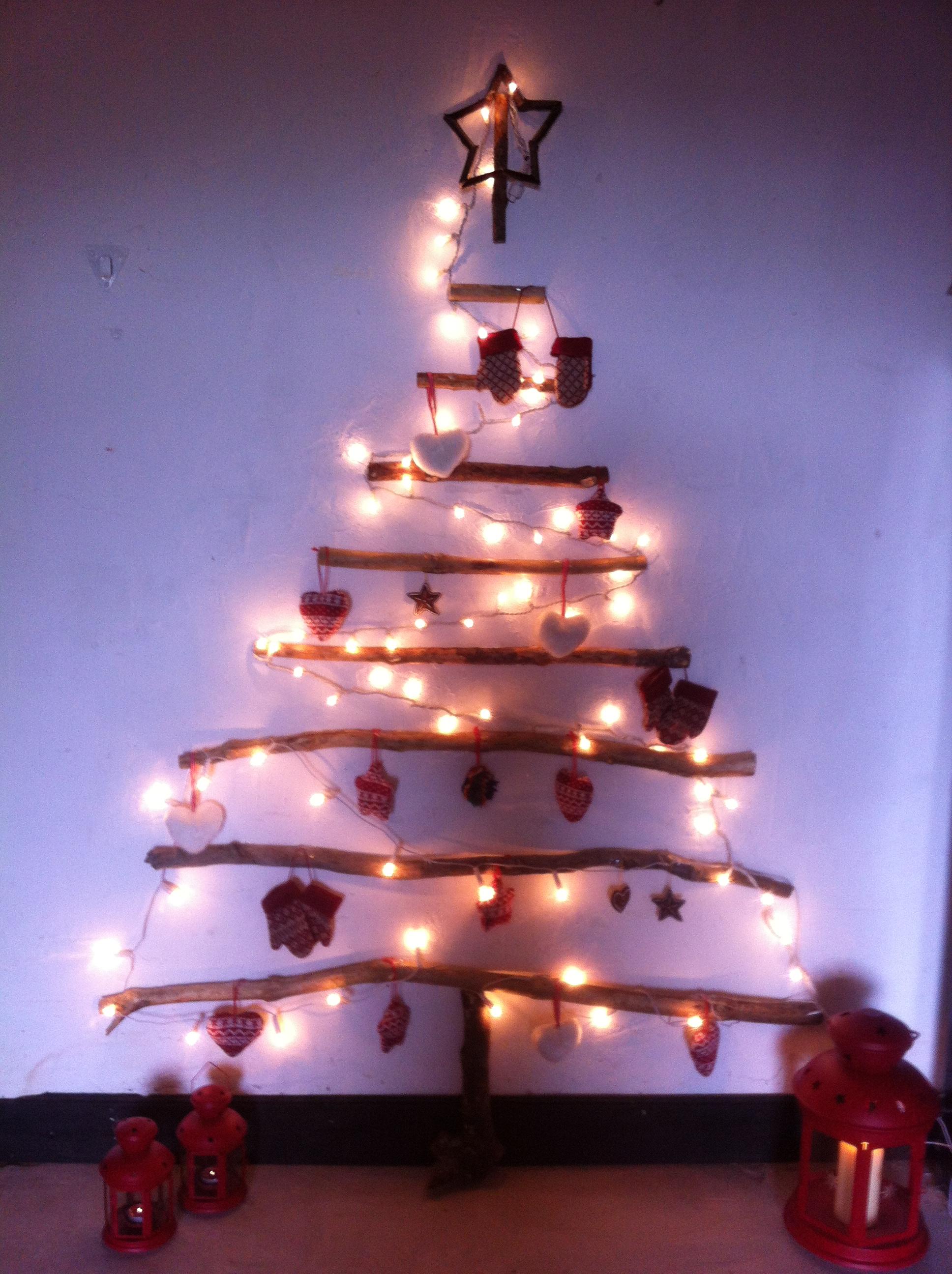 Oui Oui-arbol navidad ramas-troncos-DIY-arbol navidad diferente (4)