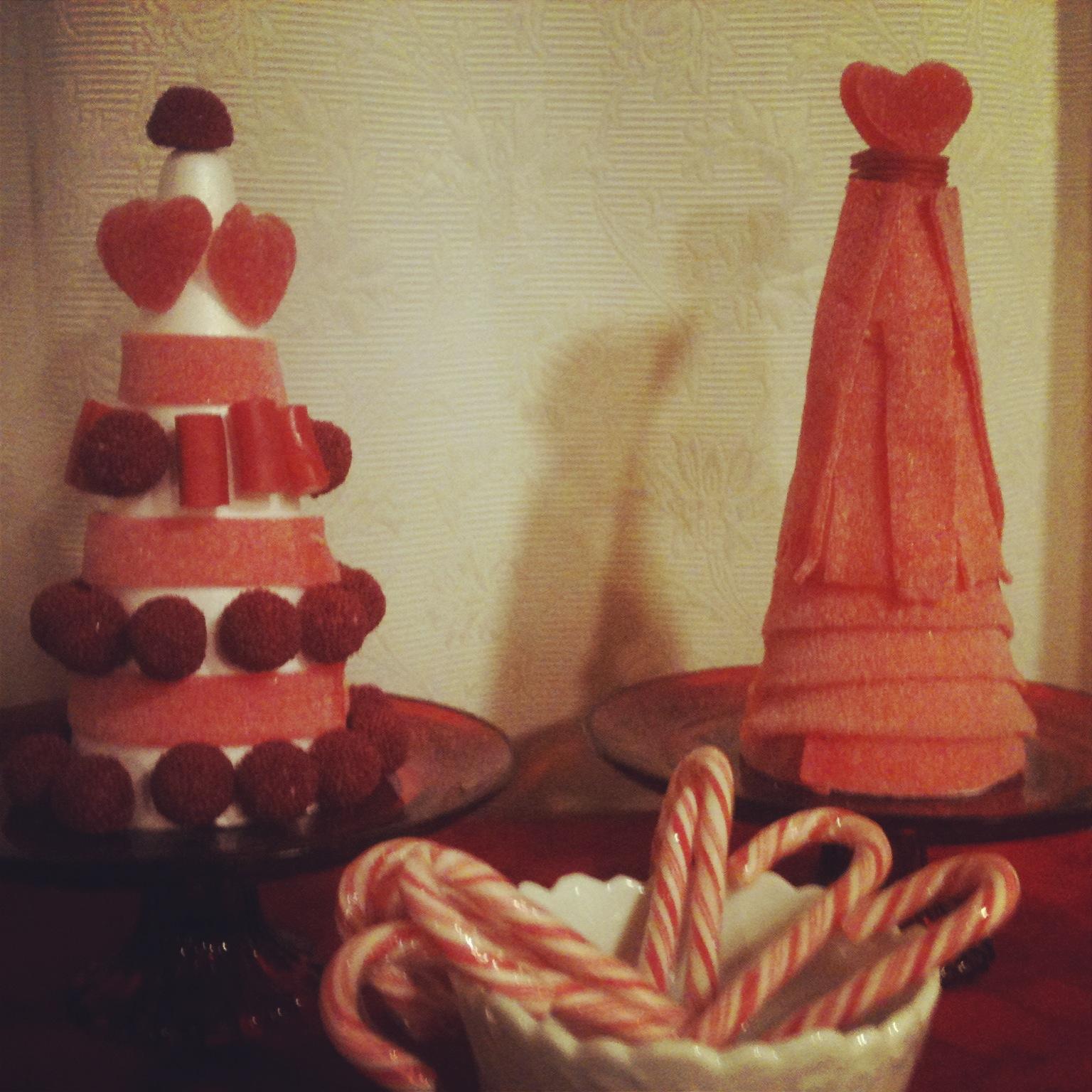 Oui Oui-arboles chuches navidad-candybar navideña-mesa dulces