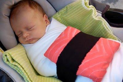 Oui Oui blog-disfraces originales bebé-niguiri-sushi