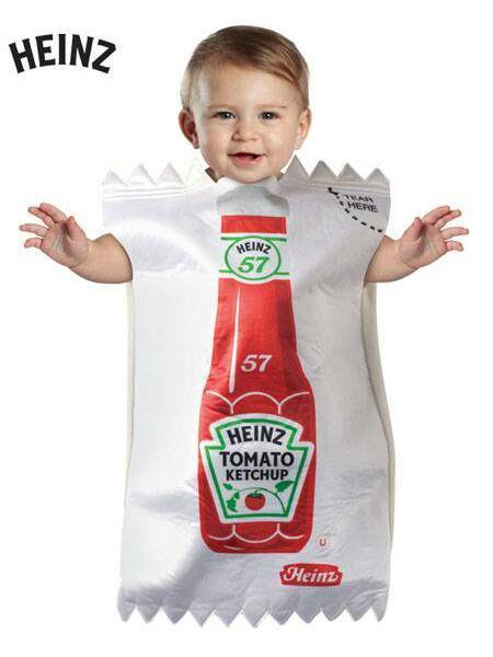 Oui Oui blog-disfraces originales niño-sobre ketchup heinz