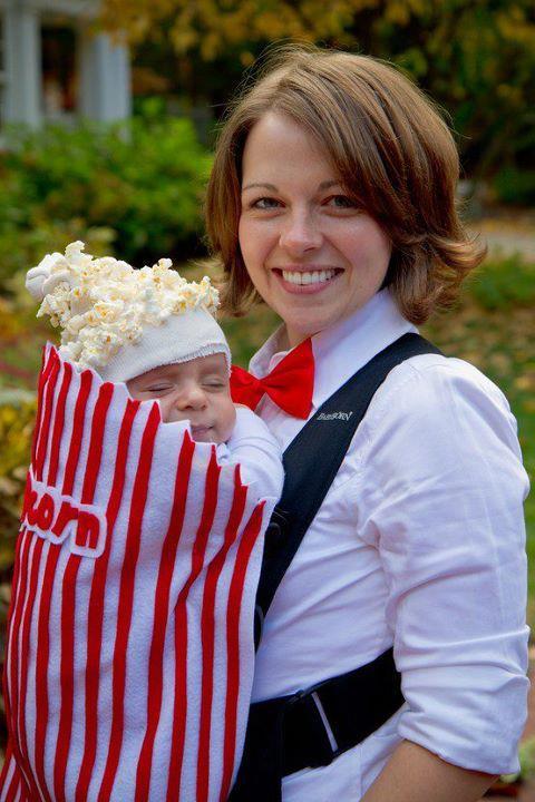 Oui Oui blog-disfraz bebé-bolsa de palomitas