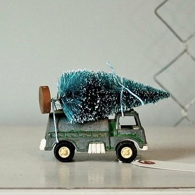 Oui Oui-camion pino navidad-adios navidad