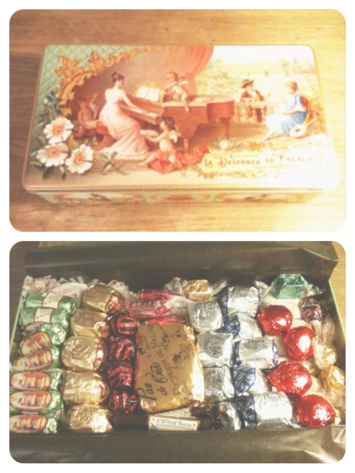 Oui Oui-la despensa de palacio-dulces navideños-gourmet