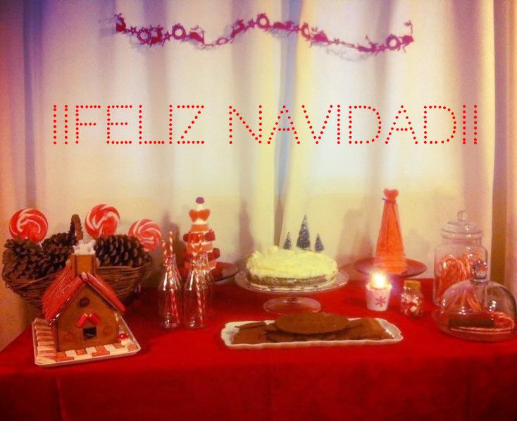 Oui Oui-mesa dulces navidad-candybar navideña