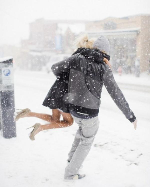 Oui Oui-novios nieve-pedida