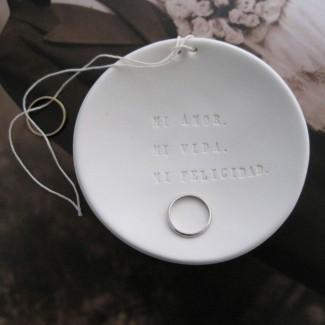 Oui Oui-plato anillos-paloma´s nest-porta anillos-mi amor mi vida mi felicidad