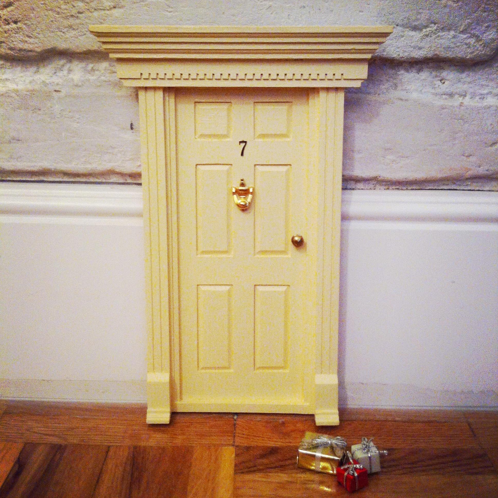 Oui Oui-puerta ratoncito pérez-regalo original niños-crema estilo inglés