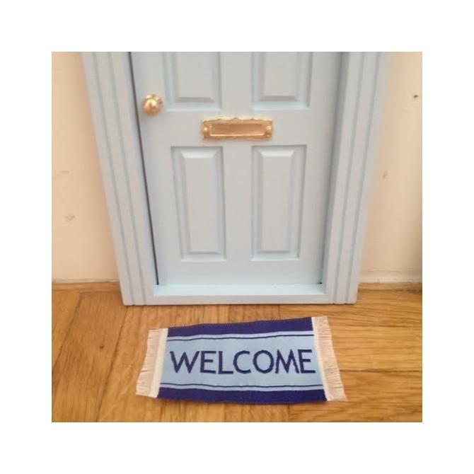 Felpudo puerta ratoncito p rez welcome oui oui for Puerta raton perez