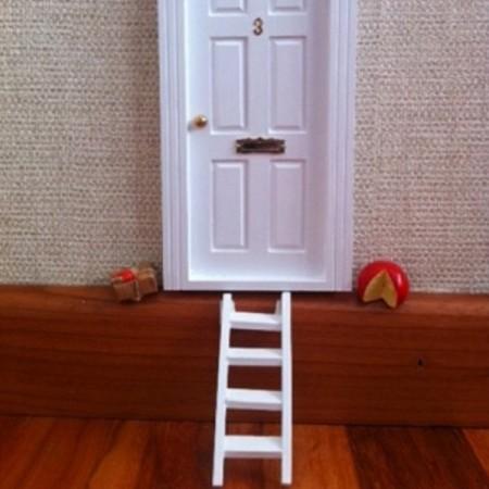 Escalera para el Ratoncito Pérez