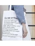 Bolsa Le sac en tissu