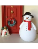 Muñeco de nieve para el ratoncito Pérez