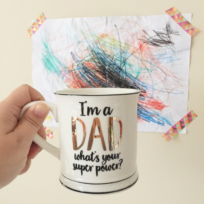 Taza superpoderes DAD