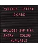 Letras rosas Letter Board