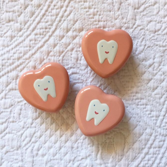 Cajita para guardar los dientes