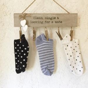 Percha calcetines perdidos