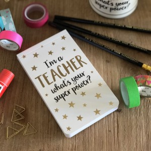 Cuaderno súper poderes TEACHER