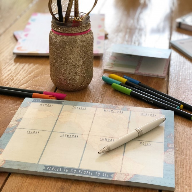 Planning semanal Mapamundi