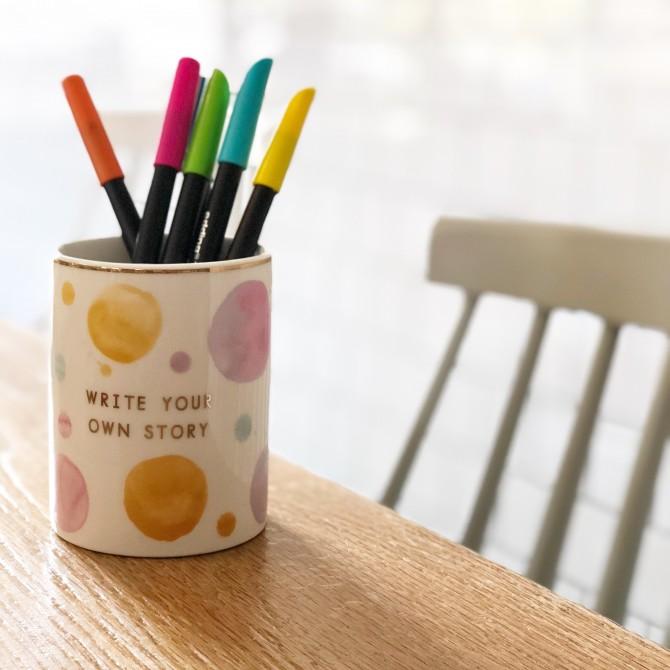 Bote lápices Acuarelas