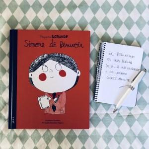 Pequeña y Grande Simone de Beauvoir