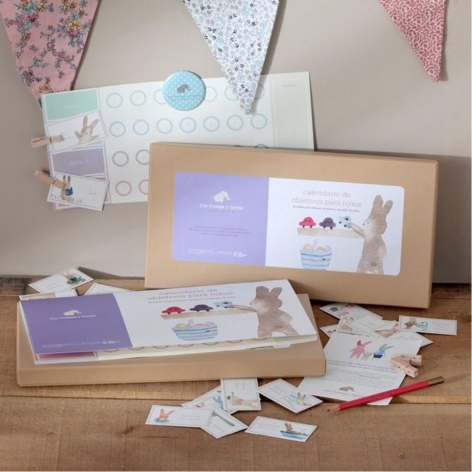 Caja de objetivos para niños