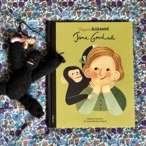 Pequeña y Grande Jane Goodall