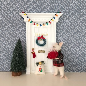 Corona Navidad para el ratoncito Pérez