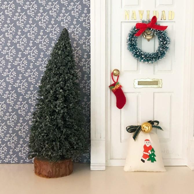 Árbol navidad para el Ratoncito Pérez