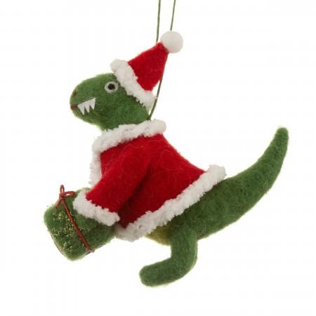Adorno árbol dinosaurio